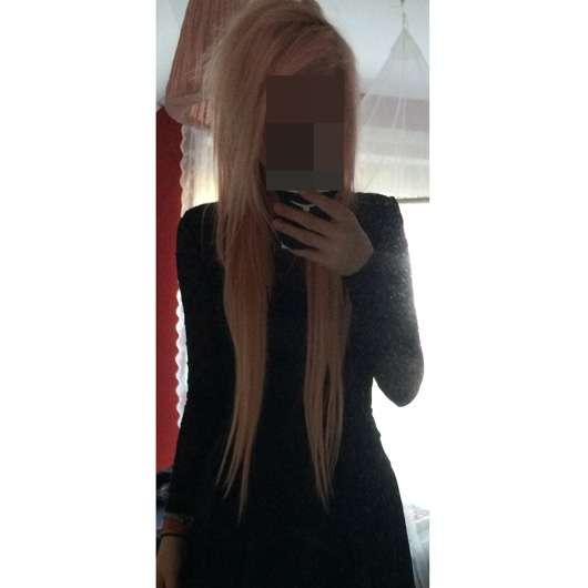 Haarpacht-Clip 120g Clip in Extensions Echthaar Haarverlängerung 66cm, Farbe: 613 Lichtblond