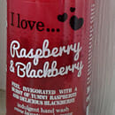 I love… Raspberry & Blackberry indulgent hand wash