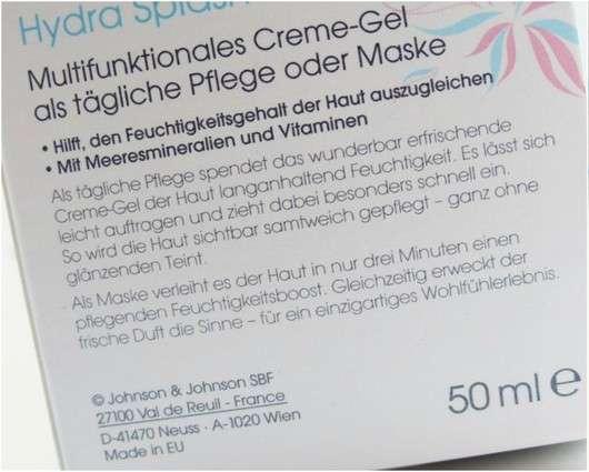 bebe More Hydra Splash - Multifunktionales Creme-Gel