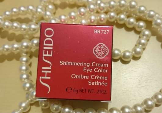 <strong>Shiseido</strong> Shimmering Cream Eye Color - Farbe: BR727 Fog