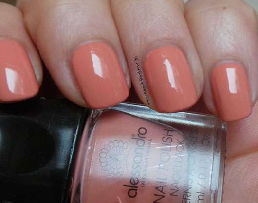 <strong>alessandro International</strong> Nagellack - Farbe: Apricot Touch (LE)
