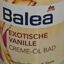 Balea Exotische Vanille Creme-Öl Bad