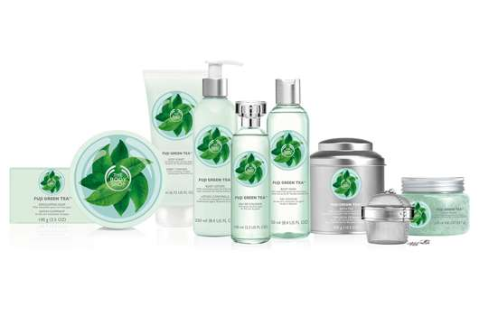 THE BODY SHOP GREEN TEA CEREMONY