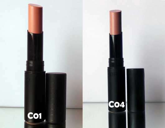 Catrice Gentle Lip Colour, Farbe: C01 Barely Pink & C04 Nearly Nude (LE)