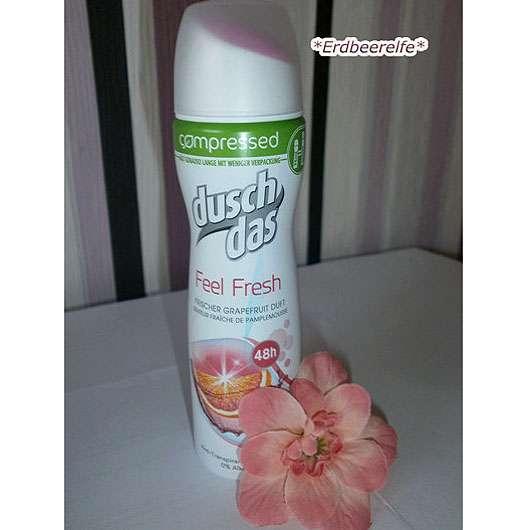 duschdas Feel Fresh compressed Deo-Spray