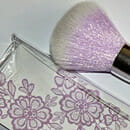 essence powder brush (lila)