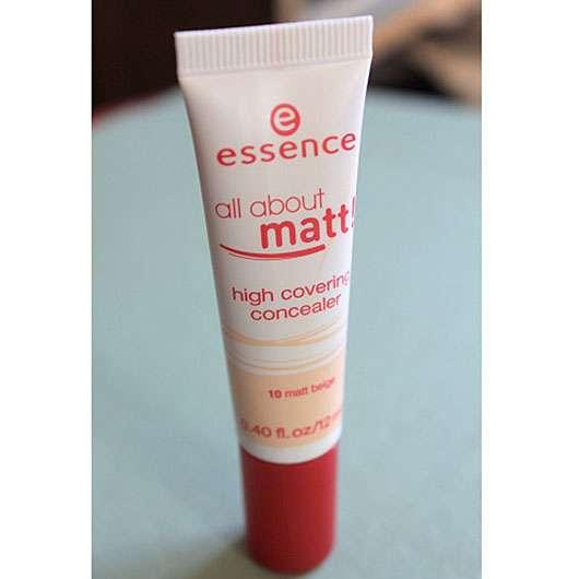 essence all about matt! high covering concealer, Farbe: 10 matt beige