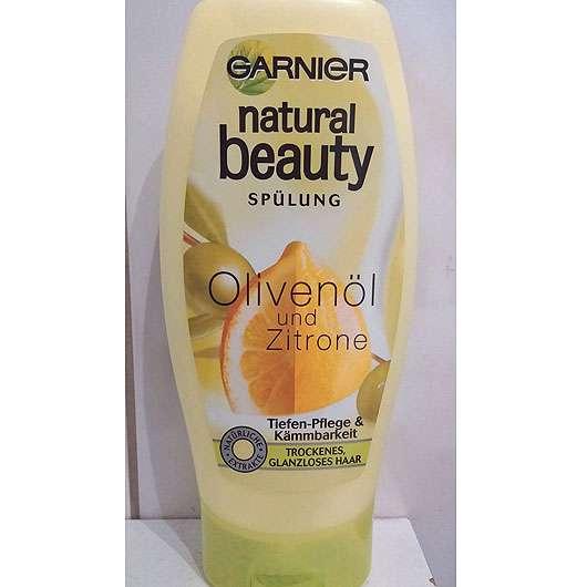 Garnier Natural Beauty Spülung Olivenöl und Zitrone