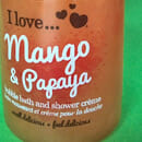 I love… mango & papaya bubble bath & shower crème (LE)