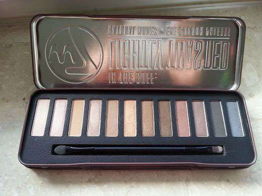 <strong>W7</strong> In the Buff Lightly Toasted Natural Nudes Eye Colour Palette