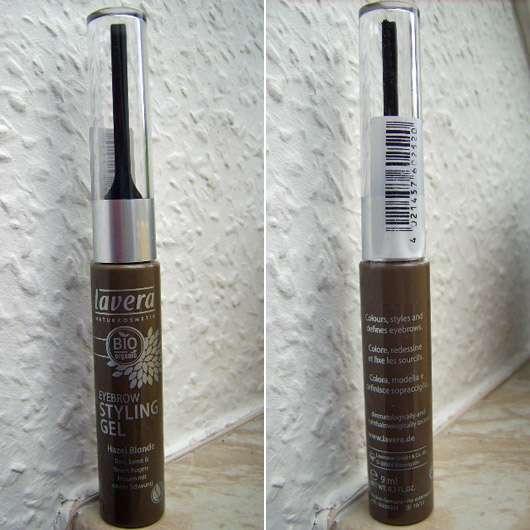 <strong>lavera Trend sensitiv</strong> Eyebrow Styling Gel - Farbe: Hazel Blonde