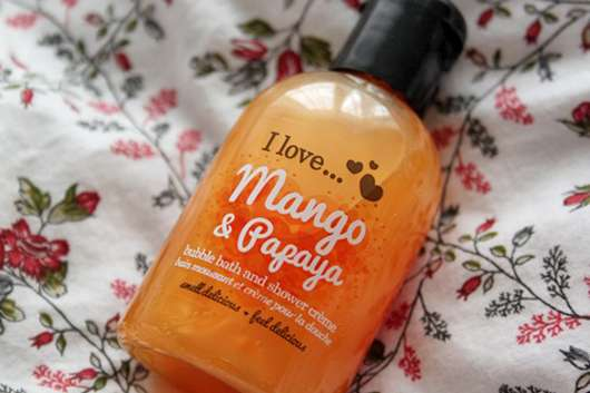 I love… Mango & Papaya bubble bath and shower crème (LE)