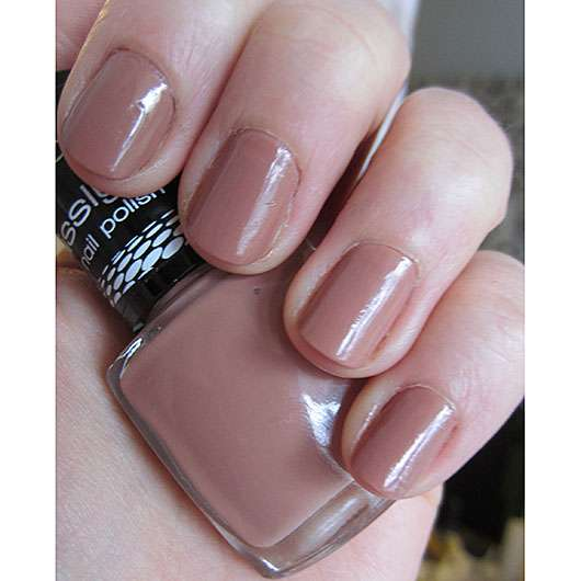 Misslyn nail polish, Farbe: 385 naked truth