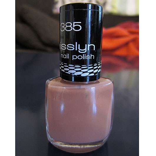 Misslyn nail polish, Farbe: 385 naked truth