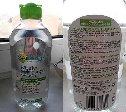 Garnier Skin Naturals Mizellen Reinigungswasser (Mischhaut & empfindliche Haut)