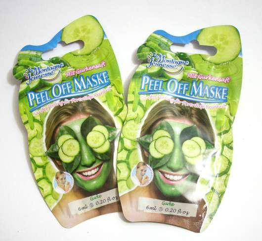 Montagne Jeunesse Peel Off Maske Gurkensaft