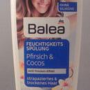 Balea Feuchtigkeits-Spülung Pfirsich & Cocos