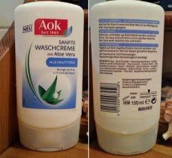 Produktbild zu Aok Sanfte Waschcreme mit Aloe Vera