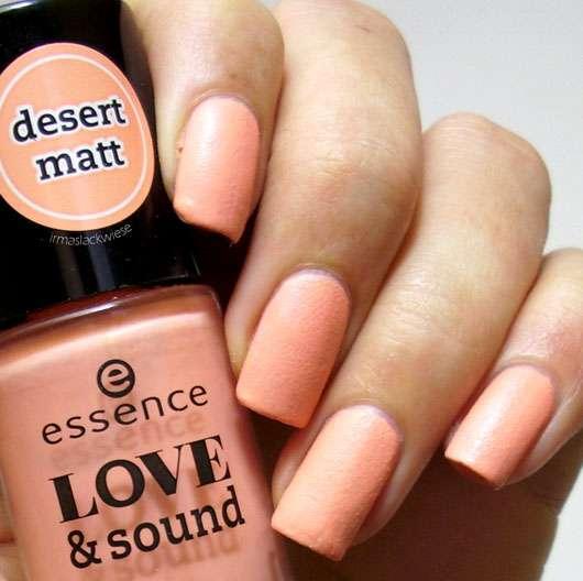 essence love & sound nail polish, Farbe: 01 make life a festival & 03 glastonberry (LE)