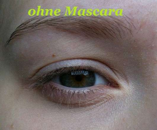 ohne Mascara