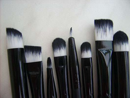 Zeagoo 20pcs make up pinselset profi kosmetikpinsel