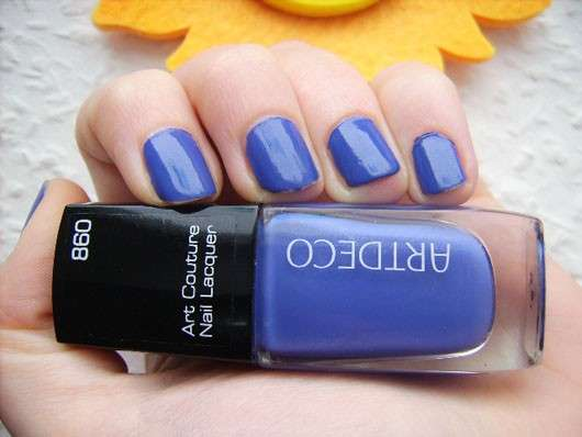 ARTDECO Art Couture Nail Lacquer, Farbe: 860 Couture Summer Lilac (LE)