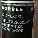 KORRES Showergel Vetiver Root, Green Tea, Cedarwood