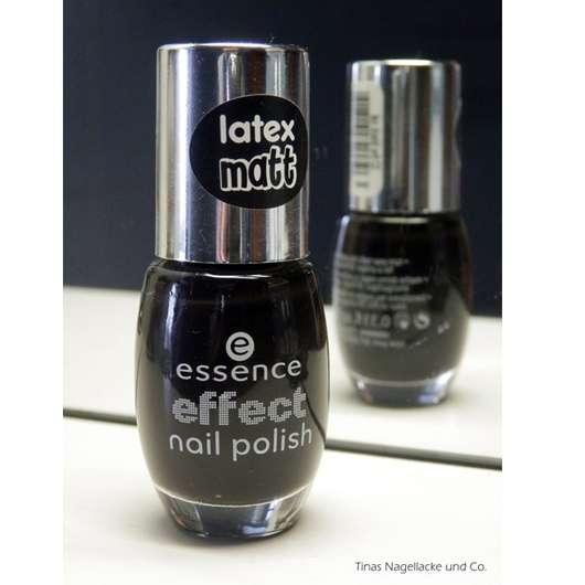 essence effect nail polish, Farbe: 32 the black cat