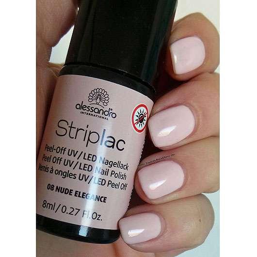 Alessandro Striplac Peel-Off UV/LED Nagellack 137 Baby Pink