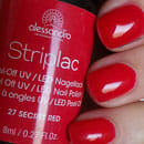 alessandro International Striplac Peel-Off UV / LED Nagellack, Farbe: 27 Secret Red