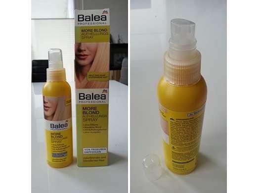 <strong>Balea Professional</strong> More Blond Aufhellungsspray