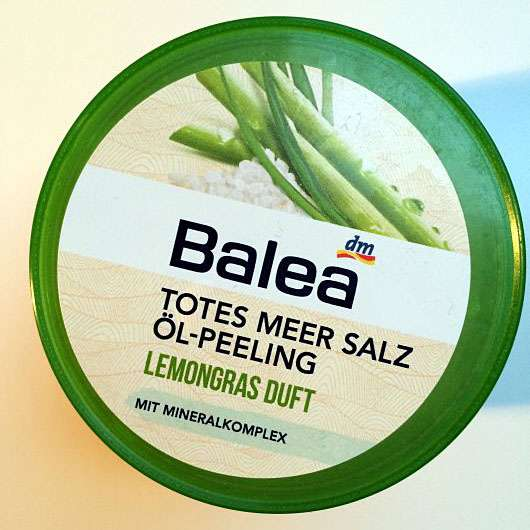 Balea Totes Meer Salz Öl-Peeling Lemongras Duft