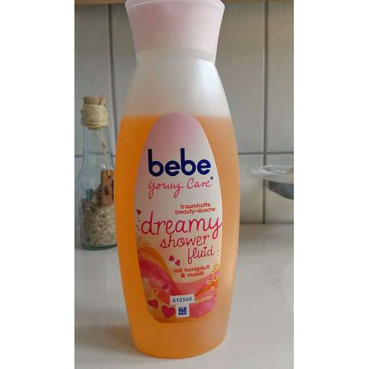 bebe Young Care dreamy shower fluid (mit honigduft & nussöl)
