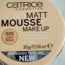 Catrice 12h Matt Mousse Make Up, Farbe: 025 Light Beige