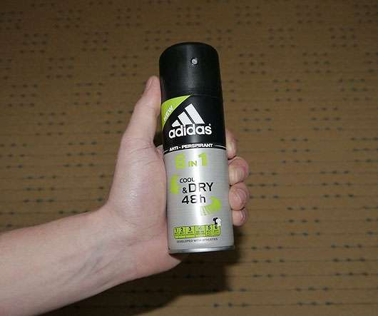 <strong>adidas</strong> Anti-Perspirant 6in1 cool&dry 48h Spray