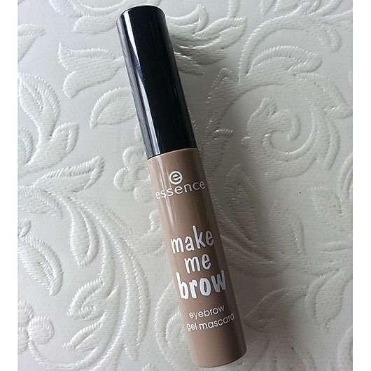 essence make me brow eyebrow gel mascara, Farbe: 01 blondy brows
