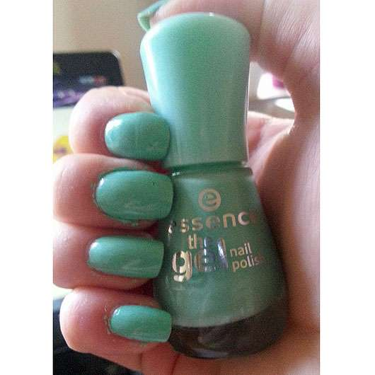 essence the gel nail polish, Farbe: 40 play with my mint