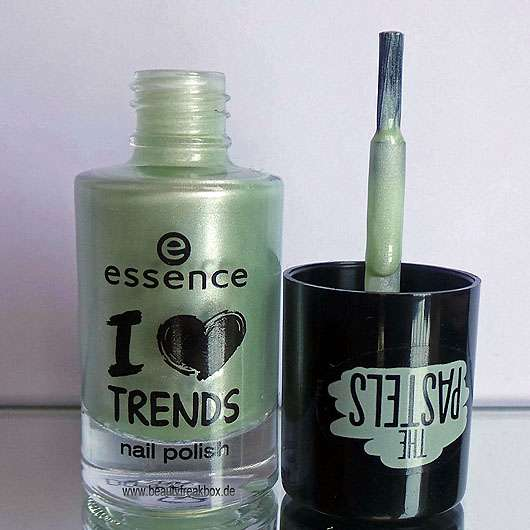 essence I love trends nail polish the pastels, Farbe: 01 so lucky