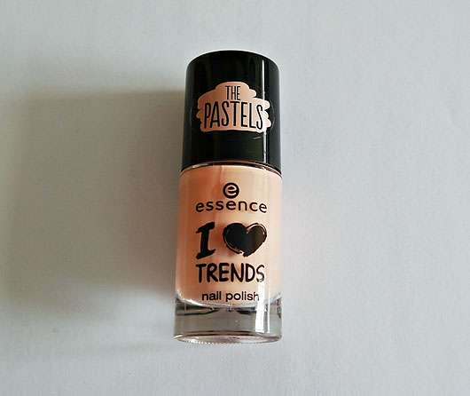essence I love trends nail polish the pastels, Farbe: 03 i'm so fluffly