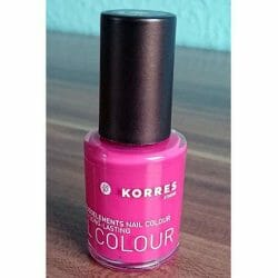 Produktbild zu KORRES Myrrh & Oligoelements Nail Colour – Farbe: 23 Cyclamen