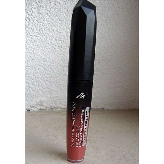 MANHATTAN Lip Lacquer Matt Effect, Farbe: 200 Satin Rose