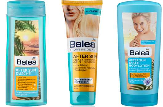 Sommerliche Pflegebegleiter von Balea