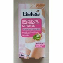 Produktbild zu Balea Bikinizone Kaltwachsstreifen