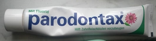 Parodontax mit Fluorid Zahncreme