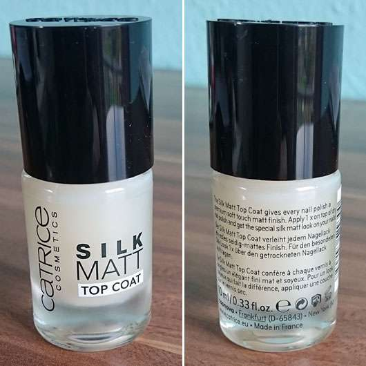 Catrice Silk Matt Top Coat