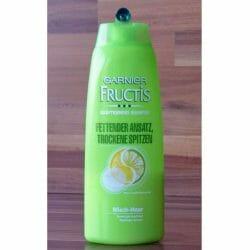 Produktbild zu Garnier Fructis Kräftigendes Shampoo Fettender Ansatz, trockene Spitzen