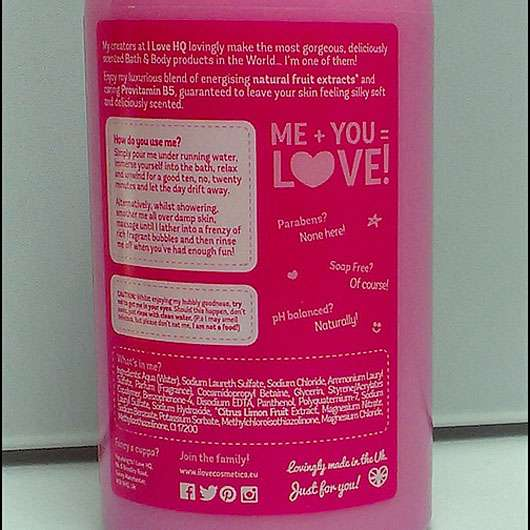 I love... Pink Marshmallow bath and shower crème (LE)