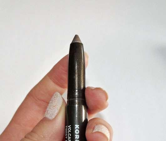 KORRES Volcanic Minerals Twist Eyeshadow, Farbe: 33 Grey Brown