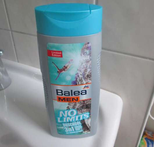 Balea Men No Limits Duschgel 3in1