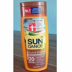 Produktbild zu SUNDANCE Schutz & Bräune Sonnenmilch LSF 20